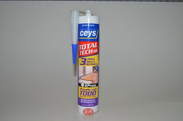 MS-TECH blanco cartucho 290 ml Ceys