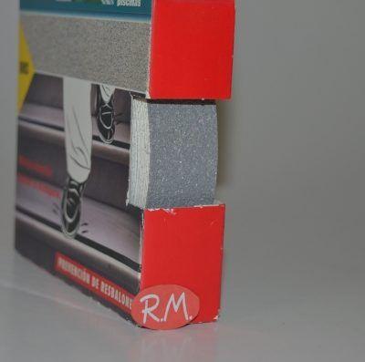 Cinta antideslizante Tackceys gris 25 m x 5 mm Ceys