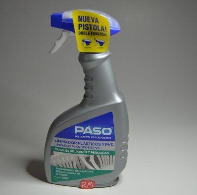 Limpiador potente plásticos y PVC pistola 500 Paso