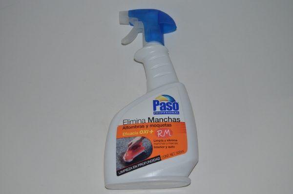 Elimina manchas alfombras y moquetas en spray 500 ml Paso