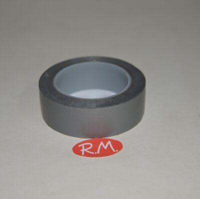 Cinta adhesiva aislante PVC gris 10 x 19 mm