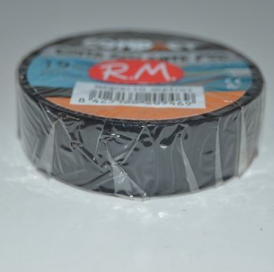 Compact cinta adhesiva aislante PVC negra 10 x 19 mm