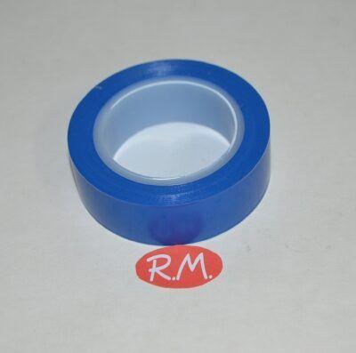 Cinta adhesiva aislante PVC azul 10 x 19 mm