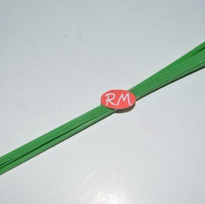 Brida poliamida verde 3,5 x 200 mm por 10 unidades