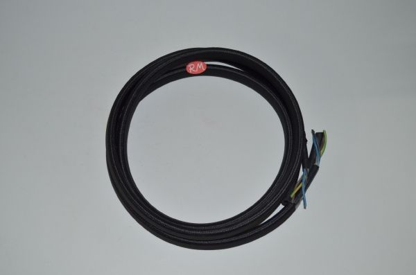 Cable mas tubo vapor plancha 4 hilos 0,75 mm Ø5 x 10 mm 2 metros