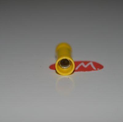 Terminal faston empalme amarillo preaislado Ø4 mm