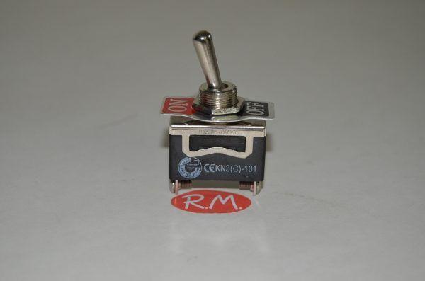 Interruptor de palanca 10 A 13 x 29 mm