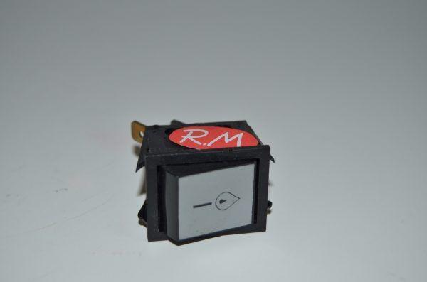 Pulsador unipolar 22 x 30 mm