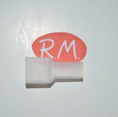 Funda terminal hembra 6,3 mm transparente - Recambios Mollet