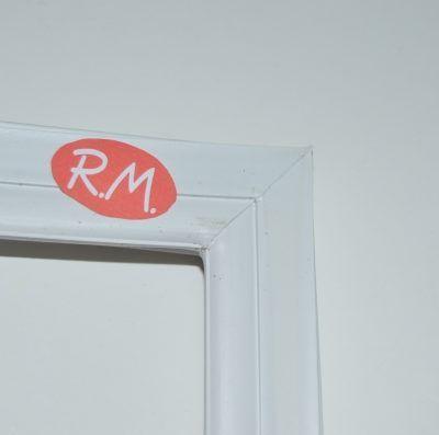 Burlete puerta congelador Candy 91600162 580 x 850 mm blanco