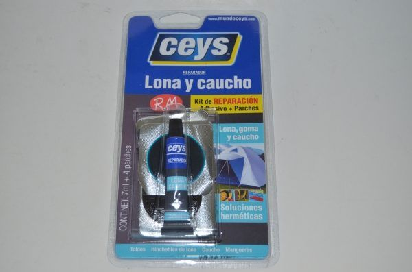 Ceys kit reparación pinchazos en lona y caucho
