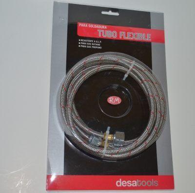 Tubo flexible para soldador de g.l.p. DESA