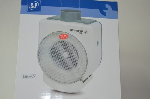 Extractor de humos cocina S&P CK-40 F