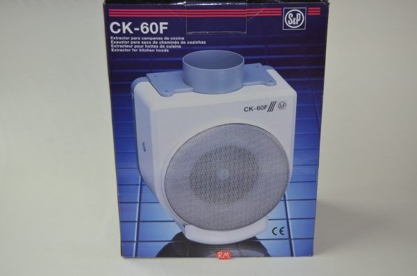 Extractor de humos cocina S&P CK - 60F