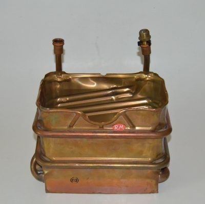 Serpentín calentador de agua a gas Junkers 10 litros