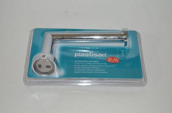 Portarrollo sin tapa wc plastisan kauta cromo 00518 for Wc sin agua
