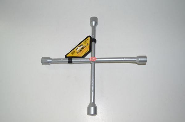 Llave en cruz para rueda de coche 17 x 19 x 21 x 23