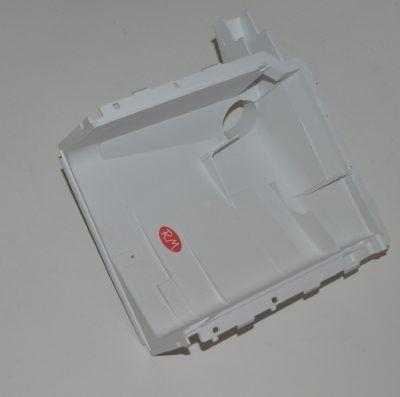Cuerpo inferior jabonera lavadora Zanussi serie Z 3541002014