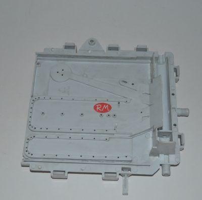 Tapa superior jabonera lavadora Zanussi 3566101048