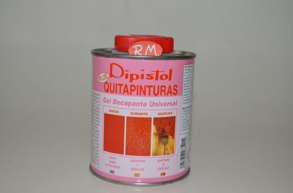 Dipistol gel decapante quitapintura 375ml