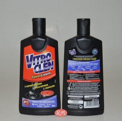 Vitroclen líquido limpieza cristal de vitrocerámica 200ml