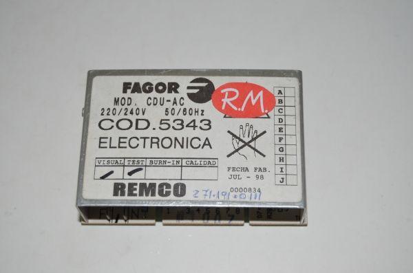 Módulo lavadora Fagor LFC-2000D LB6A005I8