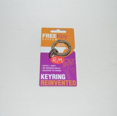 Llavero Free key anti rotura uñas