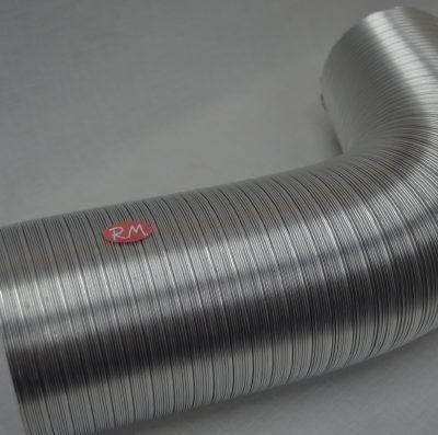 Tubo de aluminio flexible compacto Ø 120 mm 2 metros