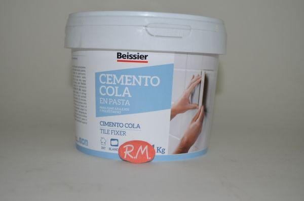 Aguaplast cemento cola en pasta tarro de 1kg
