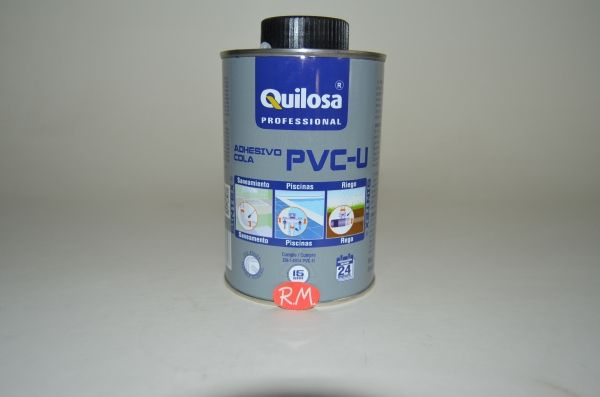 Adhesivo PVC quilosa con pincel 500 ml