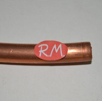 Tubo de cobre en rollo Ø 18 mm a metros