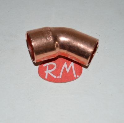Curva 45° de cobre soldar M-H Ø 28 mm