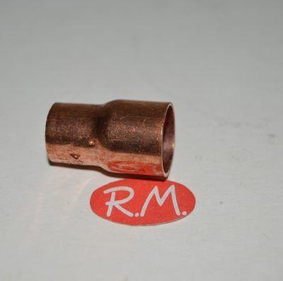 Reducción de cobre soldar H-H Ø 28 - 22 mm