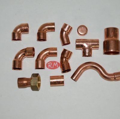Accesorios Cobre agua - gas
