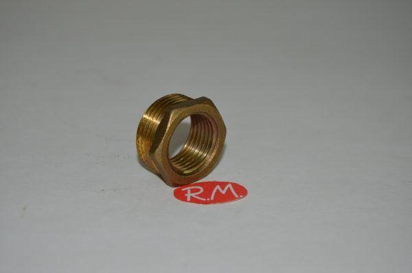 Reducción latón hexagonal M 3/4 H 1/2