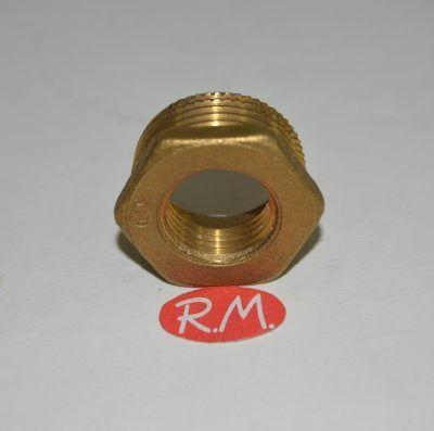 Reducción latón hexagonal M 1