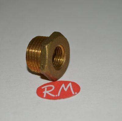 Reducción latón hexagonal M 1/2 H 1/4