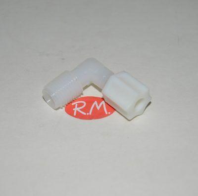 Osmosis codo 1/4 con tuerca a M 3/8