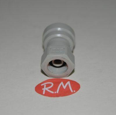 Osmosis manguito hembra 1/8 y anclaje a presión 7 mm