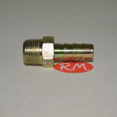 Neumática boquilla espiga macho 3/8 gas manguera 10 mm