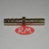 Neumática espiga empalme doble para manguera de 8 mm