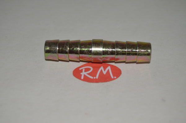 Neumática espiga empalme doble para manguera de 10 mm