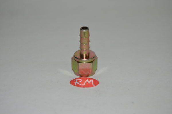 Neumática boquilla espiga hembra 3/8 gas manguera 8 mm