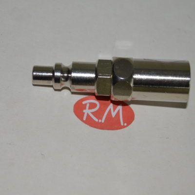 Neumática rácor rápido espiga manguera 8 x 17 mm