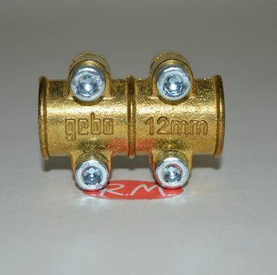 Abrazadera tapaporos para tubo de cobre de 12 mm