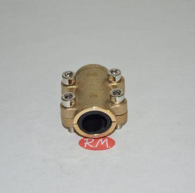 Abrazadera tapaporos para tubo de cobre de 18 mm