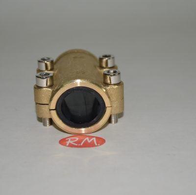 Abrazadera tapaporos para tubo de cobre de 22 mm