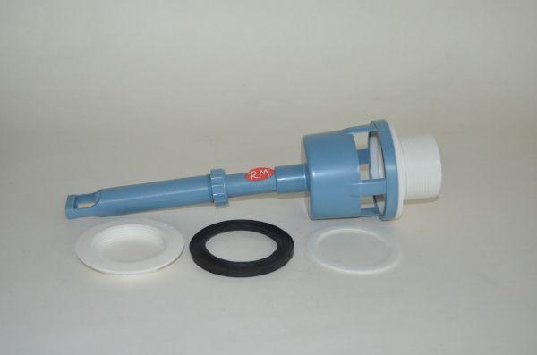Mecanismo descarga tanque bajo Lucerna plástico