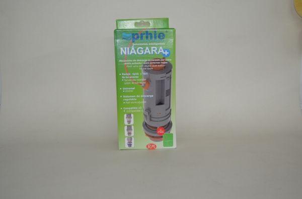 Prhie descarga wc de doble pulsador Niágara plus 70355