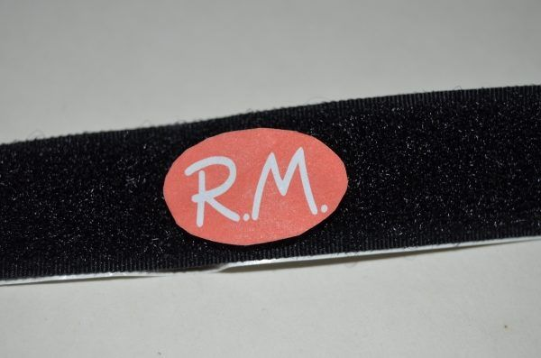 Velcro adhesivo 20 mm negro hembra a metros